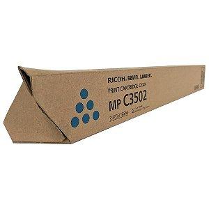 Toner Original Ricoh 841738 Cyan Mp C3002 C3502 | 15k