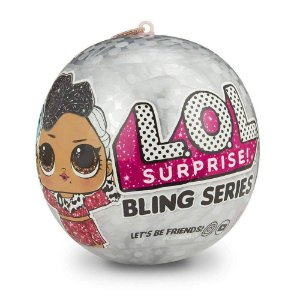 Mini Boneca Surpresa - LOL Lil Outrageous Littles - Bling Series - 7 Surpresas - Candide 8919