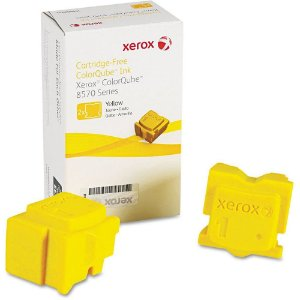 Bastão Cera Original Xerox 8570 | 8580 | 8870 | 8880 Yellow Colorqube 108r00938 c/2un