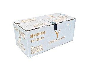 Toner Original Kyocera Tk5232 TK5232y Yellow KyoceraEcosys M5521cdw P5021cdw 2,2k