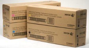 Kit 4 Cores Cilindro Original Xerox Wc 7120 7125 7220 7225 K M C Y