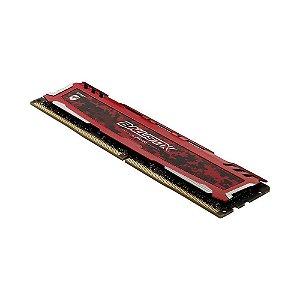 Memoria Desktop 4gb - Ddr4 - 2666mhz Bls4g4d26bfsc Ballistix Sport Red