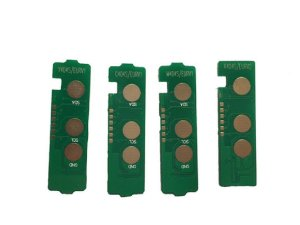 kit 4 Chip p/ Toner Samsung CLT-404S 404 404s  C430 C430W C433W 480 - 4 cores