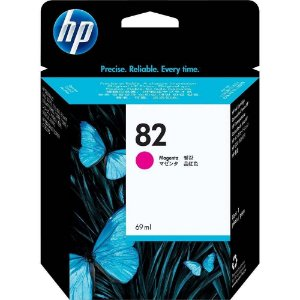 Cartucho Original HP 82 Magenta C4912a C4912ab 69ml