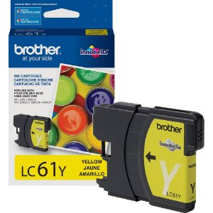 Cartucho Original Brother Lc-61 Lc61 Lc-61y Yellow Dcp165c Dcpj140 Mfc290 Mfc490 Mcf5490 Mfc6490