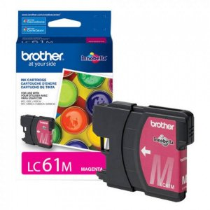 Cartucho Original Brother Lc-61 Lc61 Lc-61m Magenta Dcp165c Dcpj140 Mfc290 Mfc490 Mcf5490 Mfc6490