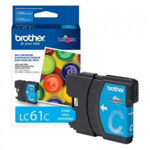 Cartucho Original Brother Lc-61 Lc61 Lc-61c Cyan Dcp165c Dcpj140 Mfc290 Mfc490 Mcf5490 Mfc6490