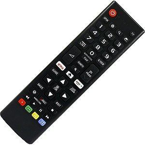 Controle Smart Tv Lg 4k Nova Led Ultra Hd Netflix Lcd AKB75095315 Vc-A8204