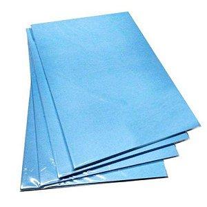 Pacote Com 100 Folhas A4 Papel Sublimatico A4 100g Fundo Azul
