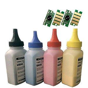 Kit Recarga Toner Tk5242 Po + Chip 4 cores Kyocera Tk5242 M5526 P5026 K M C Y