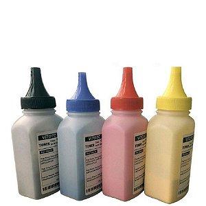 Kit Recarga Po p/ Toner Tk5242 Tk5232 | 4 cores Kyocera M5526 P5026 P5021 M5521 K M C Y