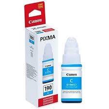Refil Tinta Compativel Canon Gi190 Gi190C Cyan G3110 G3111 G1100 G2100 G3100 70ml