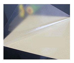 80 Folhas Papel Filme Vinil Adesivo Transparente 150G A4 Laser