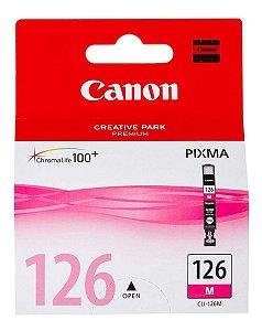Cartucho Original Canon Cli-126M Magenta iP4810 Pro9000 iX6510 MG5210 MG5310 MG6110 MG6210 9ml