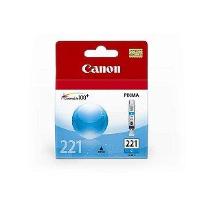 Cartucho Original Canon Cli221 Cli-221 Cli-221C Cyan  9ml