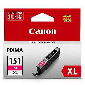 Cartucho Original Canon Cli151XL Cli-151xl Cli-151Xlm Magenta M Ix6810 11ml Alto Rendimento