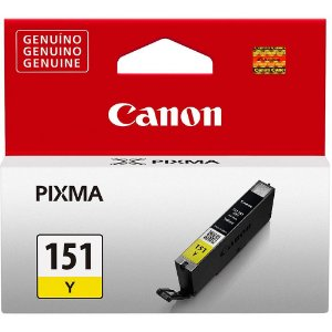Cartucho Original Canon Cli151 Cli-151 Cli-151Y Yellow Ix6810 7ml
