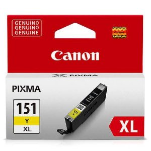 Cartucho Original Canon Cli151XL Cli-151xl Cli-151XlY Yellow Ix6810 1Ip8710 11ml Alto Rendimento