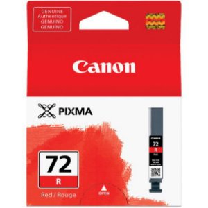 Cartucho Original Canon 72 PGI-72R Red Pixma Pro-10 Pro10 Photo 14ml