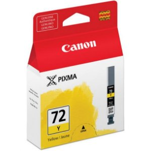 Cartucho Original Canon 72 PGI-72Y Yellow Pixma Pro-10 Pro10 Photo 14ml