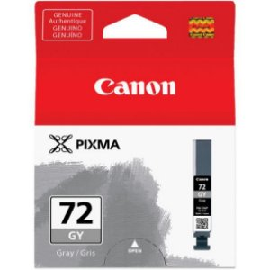 Cartucho Original Canon 72 PGI-72GY Gray Pixma Pro-10 Pro10 Photo 14ml