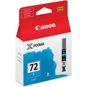 Cartucho Original Canon 72 PGI-72 C Cyan Pixma Pro-10 Pro10 Photo 14ml