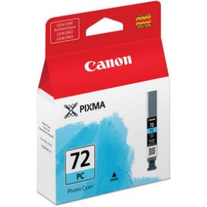 Cartucho Original Canon 72 PGI-72PC Photo Cyan Pixma Pro-10 Pro10 Photo 14ml