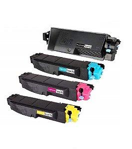 Kit 4 Toner Compativel Kyocera Tk5282 Tk-5282 Kyocera Ecosys M6635 M6235 P6235 K M C Y