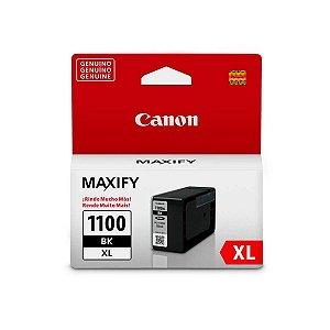 Cartucho Original Canon PGI-1100xl PGI1100xl PGI1100BK Preto Mb2710 Mb2010 Mb2110 34,7ml