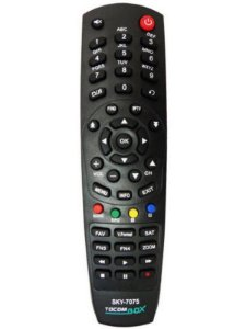 Controle Remoto Receptor Tocombox Tocomsat PFC HD Duo HD Energy HD Solo SD