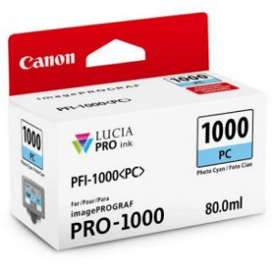 Cartucho Original Canon Pfi-1000 Pfi1000 Pc Photo Cyan imagePROGRAF PRO-1000 80ml