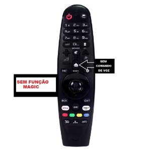 Controle Compativel Lg Smart 4k Uj6565 Uj6585 Uj6525 Oled S/ Voz (Não é Magic)