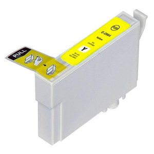 Cartucho Compativel Epson 296 T296 T296420 Yellow XP231 XP431 XP241 XP441 Alto Rendimento
