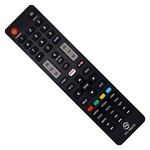 Controle Remoto Semp Toshiba Smart Ct-8045 Ct-6670 Ct-8063