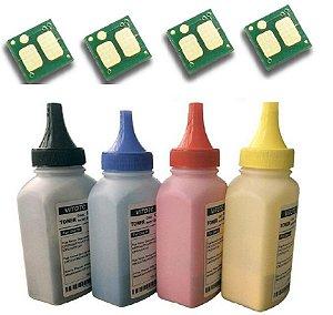 Kit Recarga po+chip Cf510a Cf511a Cf512a Cf513a M180