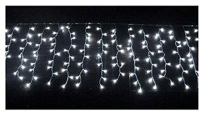 Cascata 200 Leds Natal 5 Metros Luz Branca fria  110v