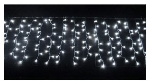 Cascata 800 Leds Natal 20 Metros Luz Branca fria  110v