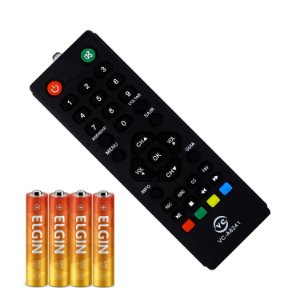 Controle Remoto Para Imagevox Df03 Df05 Multilaser Re219 + 4 pilhas Elgin