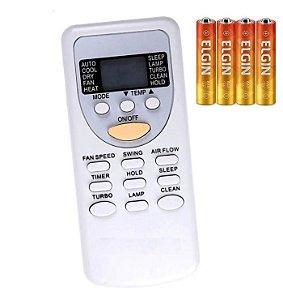 Controle Ar Condicionado York komeco Zh/jt-03 Kos09fce +pilhas