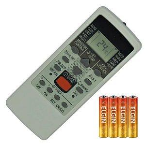 Controle Remoto Condicionado Fujitsu Ar-je4 ar-je6 +pilha