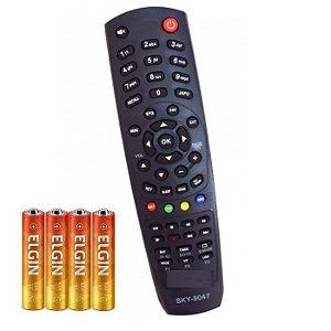 Controle Remoto Tv Universal Prodigy Hd Nano BladeNano Sky-9047