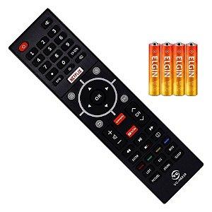 Controle Remoto  Ct-6810 Ct-6840 Semp Led +Pilhas