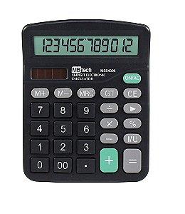 Calculadora de Mesa  12 Dígitos + 1pilha Alcalina