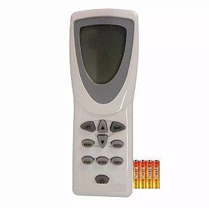 Controle Remoto Ar Condicionado Consul Split Bem Estar +pilh