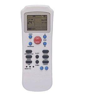 Controle Remoto Ar Condicionado Carrier Springer R14a/ce +pilhas
