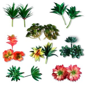 Planta Artificial Suculenta Permanente 14cm | Escolha