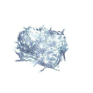 Pisca Pisca 100 Leds 220v Branco Frio 9 metros