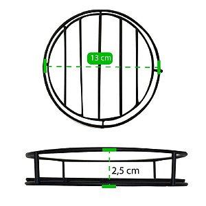 Suporte De Metal Decorativo Para Vaso 23cm