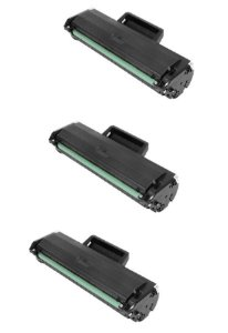 3 un Toner Compatível W1105 105A 107A 135A 135w sem chip