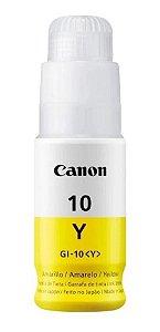 Refil Tinta Original Canon Gi-10 Yellow G6010 G5010 G5011